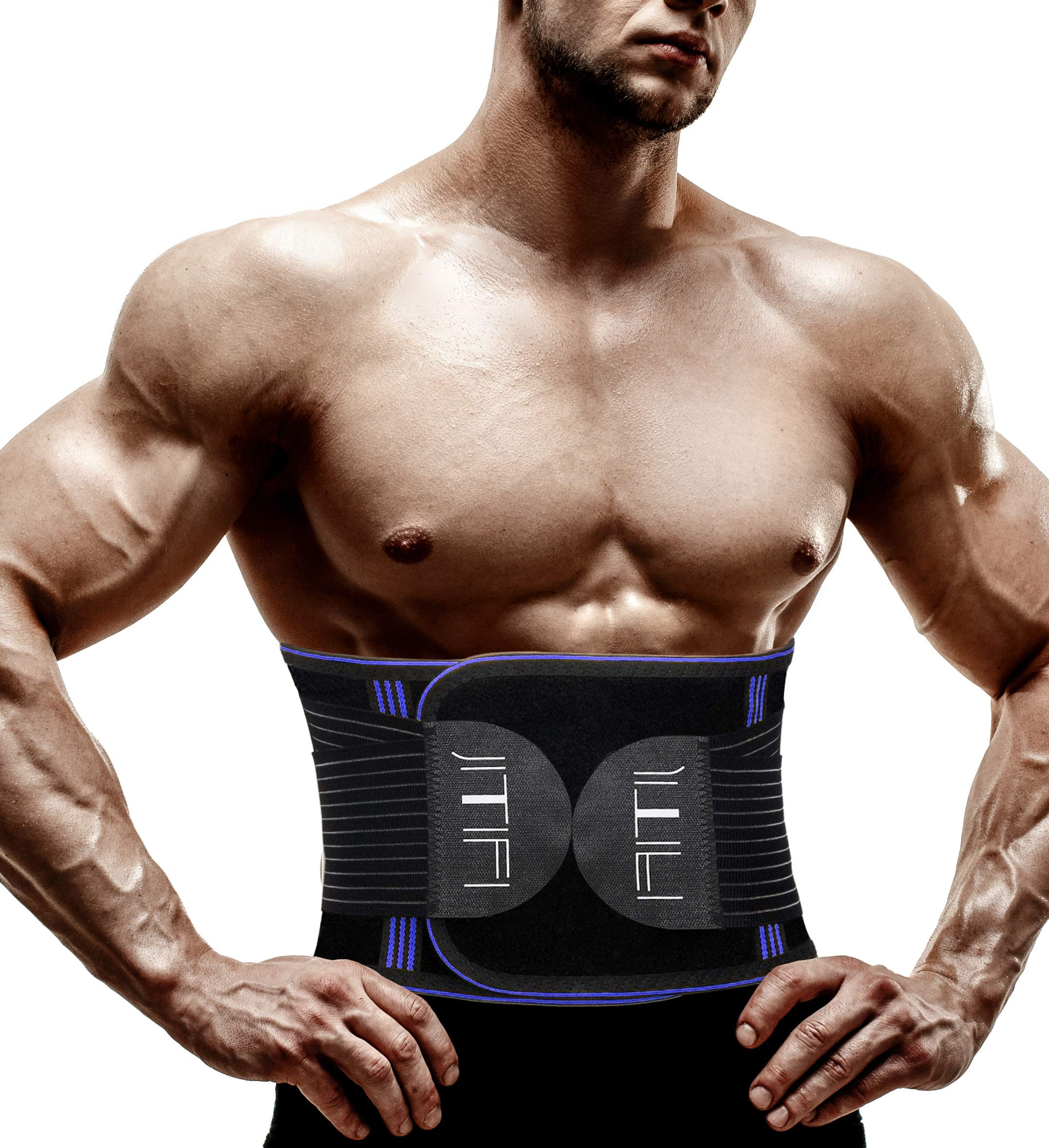 JITIFI Waist Cincher Trainer Belt Trimmer Slimmer Belt Body Shaper Compression Postpartum Recovery Band for Weight Loss Workout Fitness Back Brace Waistband