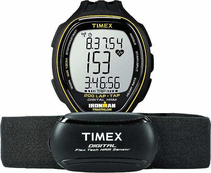 Timex T5K726F7 - Reloj de Cuarzo para Hombres, Color Negro: Amazon.es: Relojes