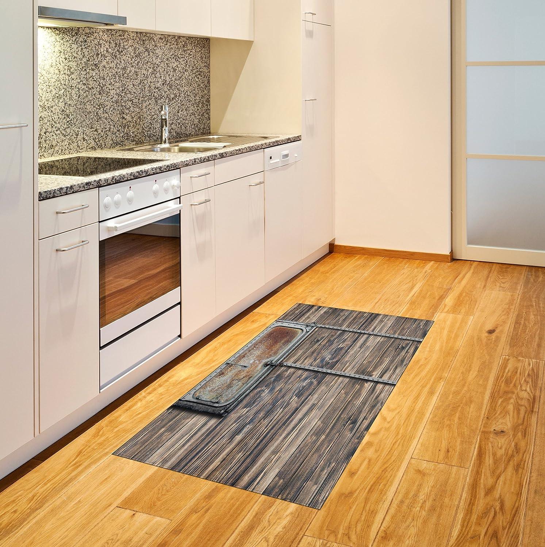 Amazon.com: Rústico alfombra por Ambesonne, los tablones de ...