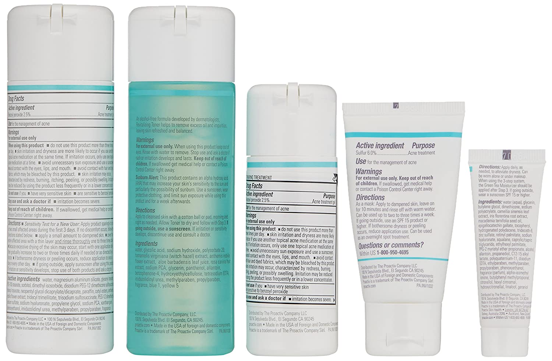 f38661933 Amazon.com: Proactiv Solution 3-Step Acne Treatment System (60 Day Original  Acne Kit): Beauty