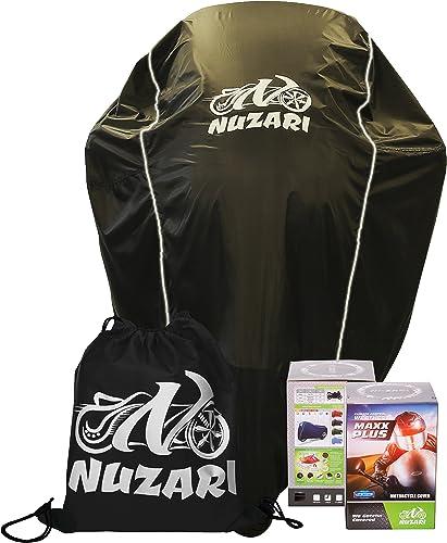 Nuzari Waterproof Polyester Outdoor Motorcycle Cover
