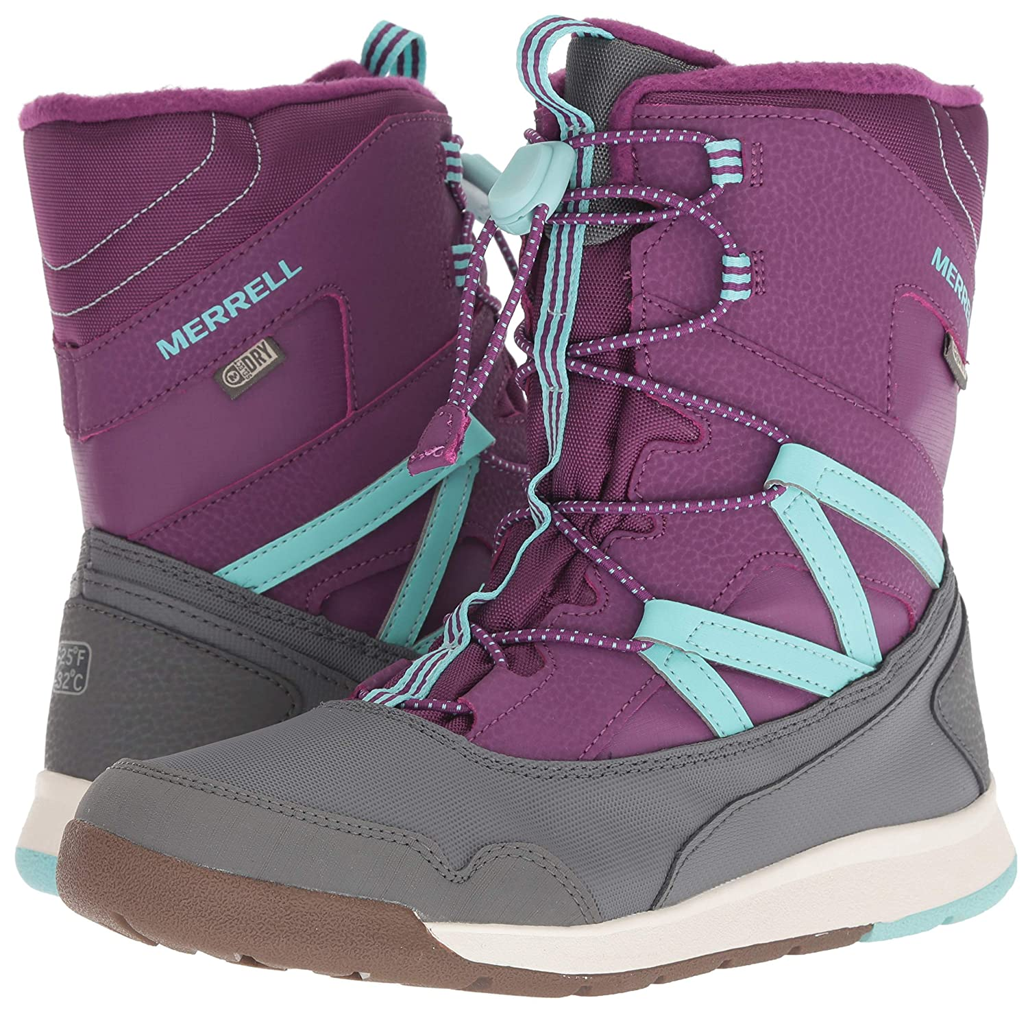 bea4f1df217d2 Amazon.com | Merrell Kids' Snow Crush WTRPF Boot | Snow Boots