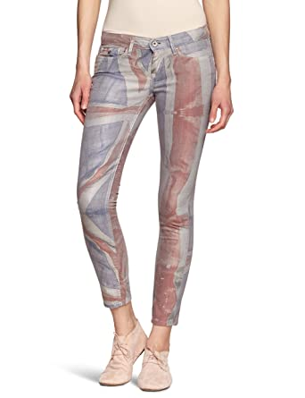 new styles ab91e 5fc18 Pepe Jeans Women's Skinny Fit Jeans - Red - Rot (RED) - 25 ...