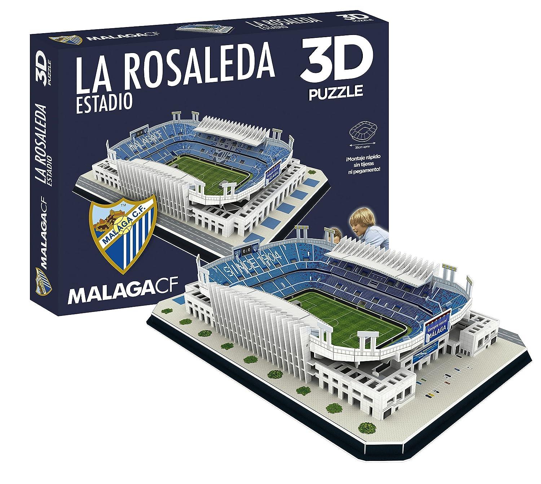 ELEVEN FORCE- Puzzle Estadio 3D La Rosaleda (Málaga CF) (63461), Ninguna (1)