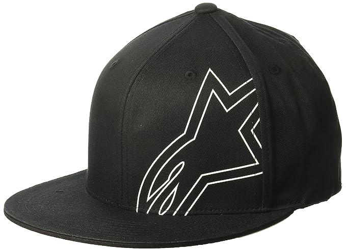 Amazon.com: Alpinestars Mens Brake Flatbill Hat, Black Large/X-Large: Clothing