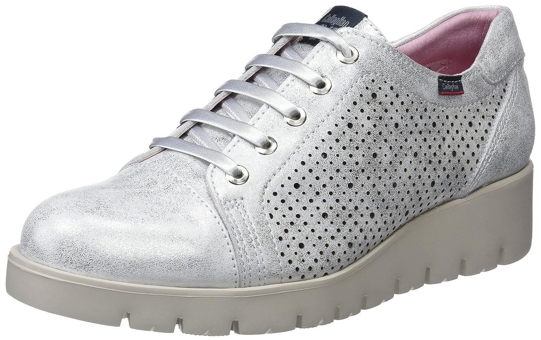 Callaghan Haman, Zapatos de Cordones Derby para Mujer 38 EU Plateado (Plata 2)