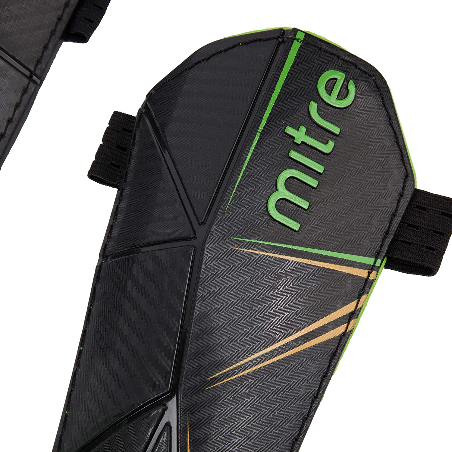 Mitre Delta Ankle Protect Football Shin Pads