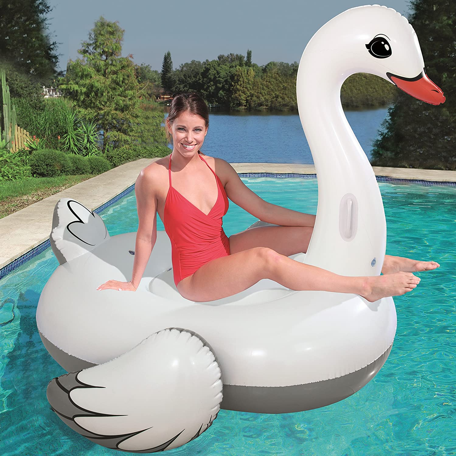 Cisne Hinchable Bestway Supersized: Amazon.es: Juguetes y juegos