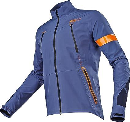 Amazon.com  Fox Racing Legion Downpour Jacket-Blue-L  Automotive b79fbb5a83d5f