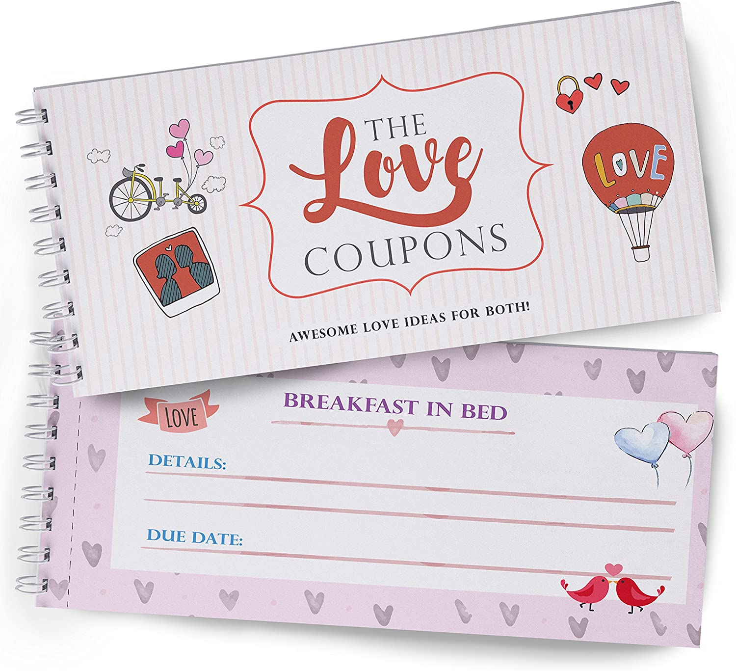 Amazon Com Love Coupons For Lovers Great Gift Of Love Wife Coupon Book For Couples And Girlfriend Perfect For Couples That Love Adventure Great Anniversary Gift To Fill In With Your Words Real