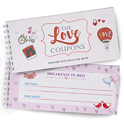 love coupons for lovers great gift of love wife coupon book for couples and