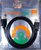 CLASSYTEK™ HDMI Cable Male to Male 1.4v High Speed Ethernet 3D Full HD 1080P - 1.5 Meter or 4.5 Feet (Black)