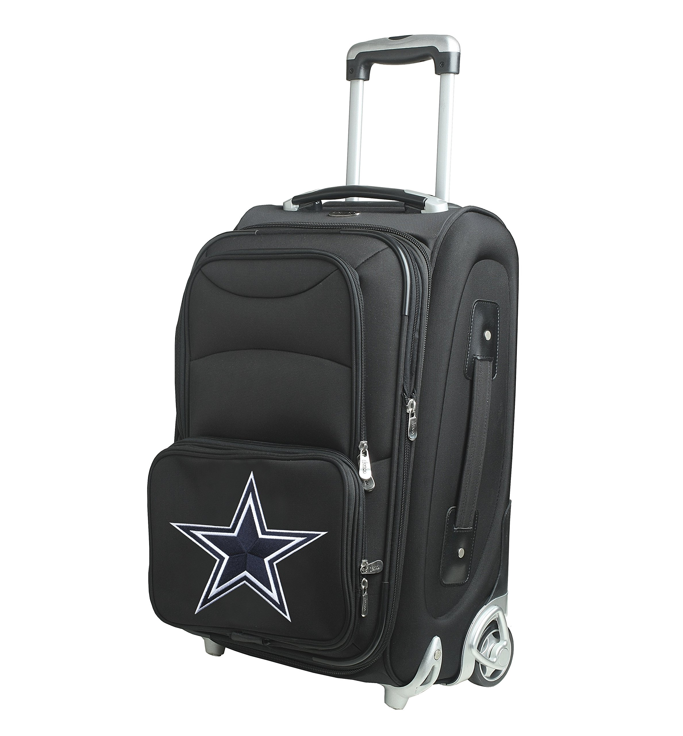 NFL Dallas Cowboys 21-inch Carry-On Luggage by Denco (Image #2)