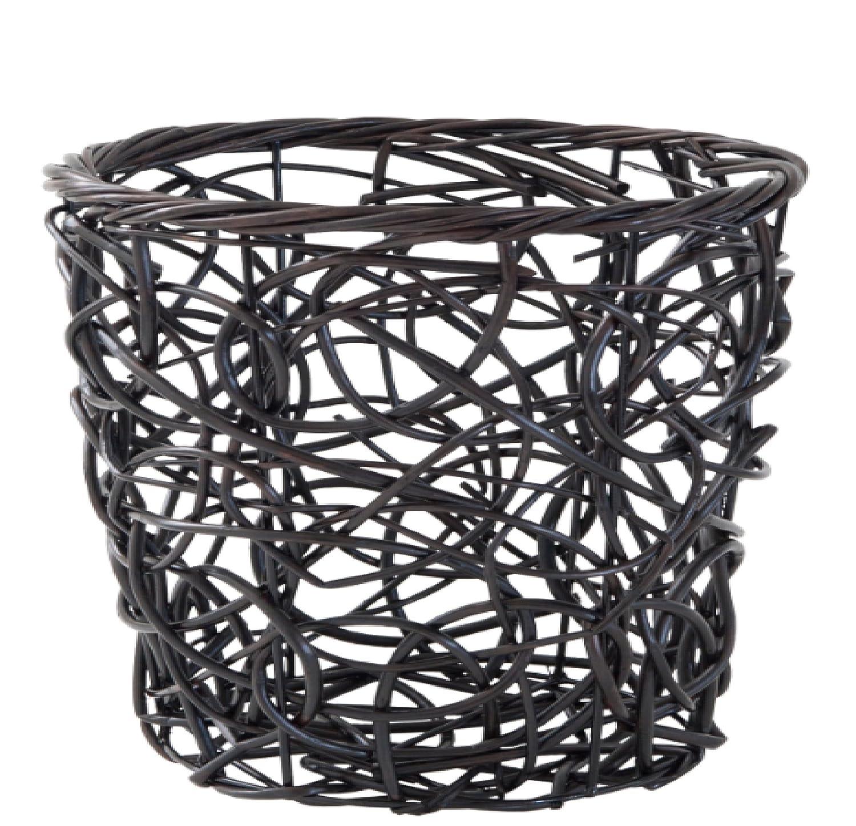 Amazon.com: Splash Home Tree Waste Basket, 9 by 11-Inch,: Home ...