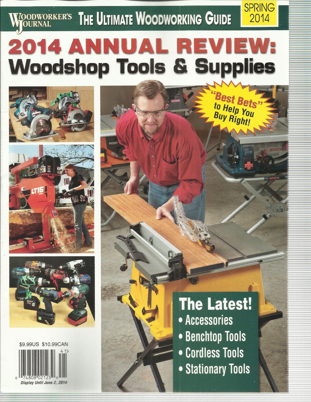 WOOD WORKER'S JOURNAL, 2014 ANNUAL REVIEW WOODSHOP TOOLS & SUPPLIES SPRING,2014