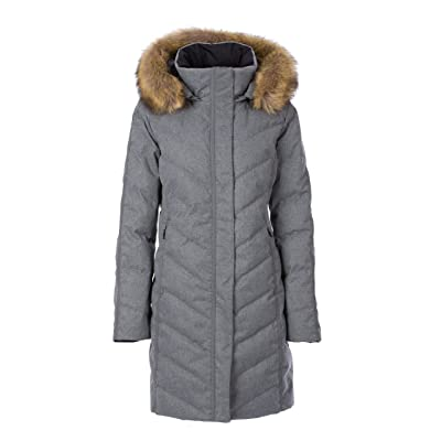 Fera Women's Selene Coat with Faux Fur: Clothing