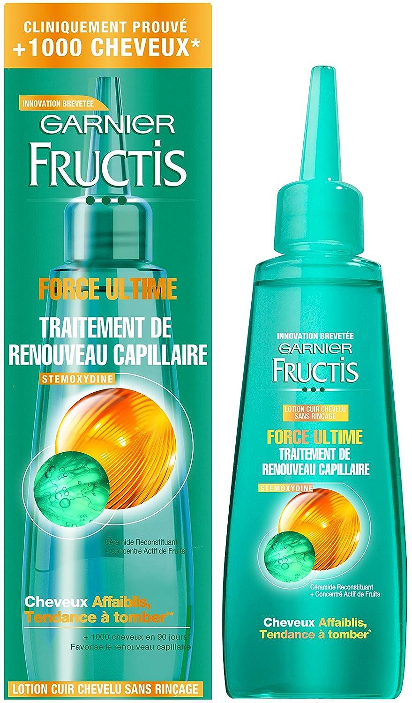 Garnier - Fructis Force Ultime - Suero para cabello frágil - Lote de ...