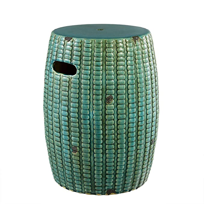 Amazon.com: Green Ceramic Drum END Table | EICHHOLTZ ...