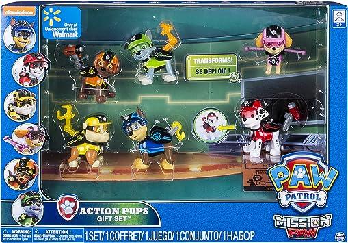 PAW PATROL 6038448 – Pack de 6 Figuras de acción de la Patrulla Canina: Amazon.es: Juguetes y juegos