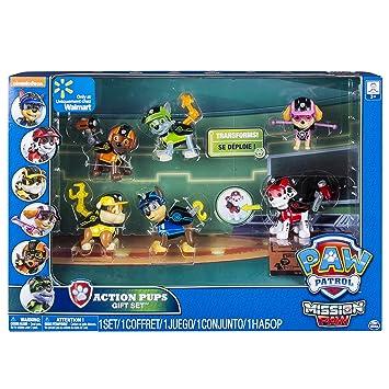 5a11c3c325501 Paw Patrol - 6038448 - Pack de 6 Figurines d Action Mission - La Pat ...