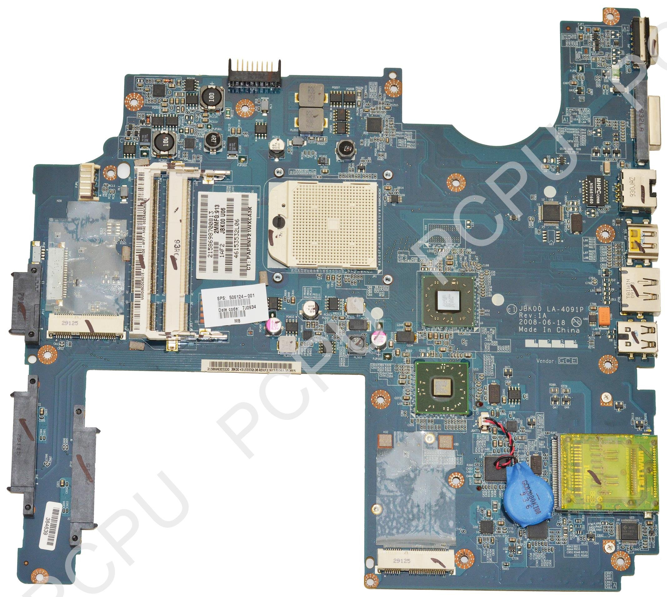 506124-001 HP PAVILION DV7-1245CA LAPTOP SB