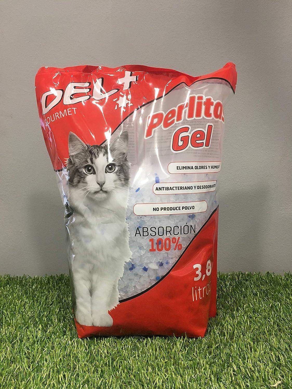 Piensos Lago Arena Gatos Gel Silice 3,9 L: Amazon.es: Productos para mascotas