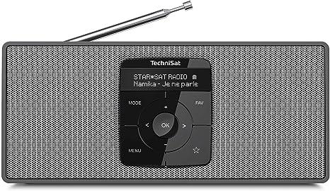 Technisat Digitradio 2 S Tragbares Dab Stereo Radio Mit Akku Dab Ukw Bluetooth Audiostreaming Oled Display Kopfhöreranschluss Stereo 2 W Rms Schwarz Silber Heimkino Tv Video