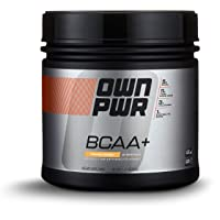 OWN PWR BCAA+ Powder, Orange Mango, 30 Servings, Micronized Branched Chain Amino...