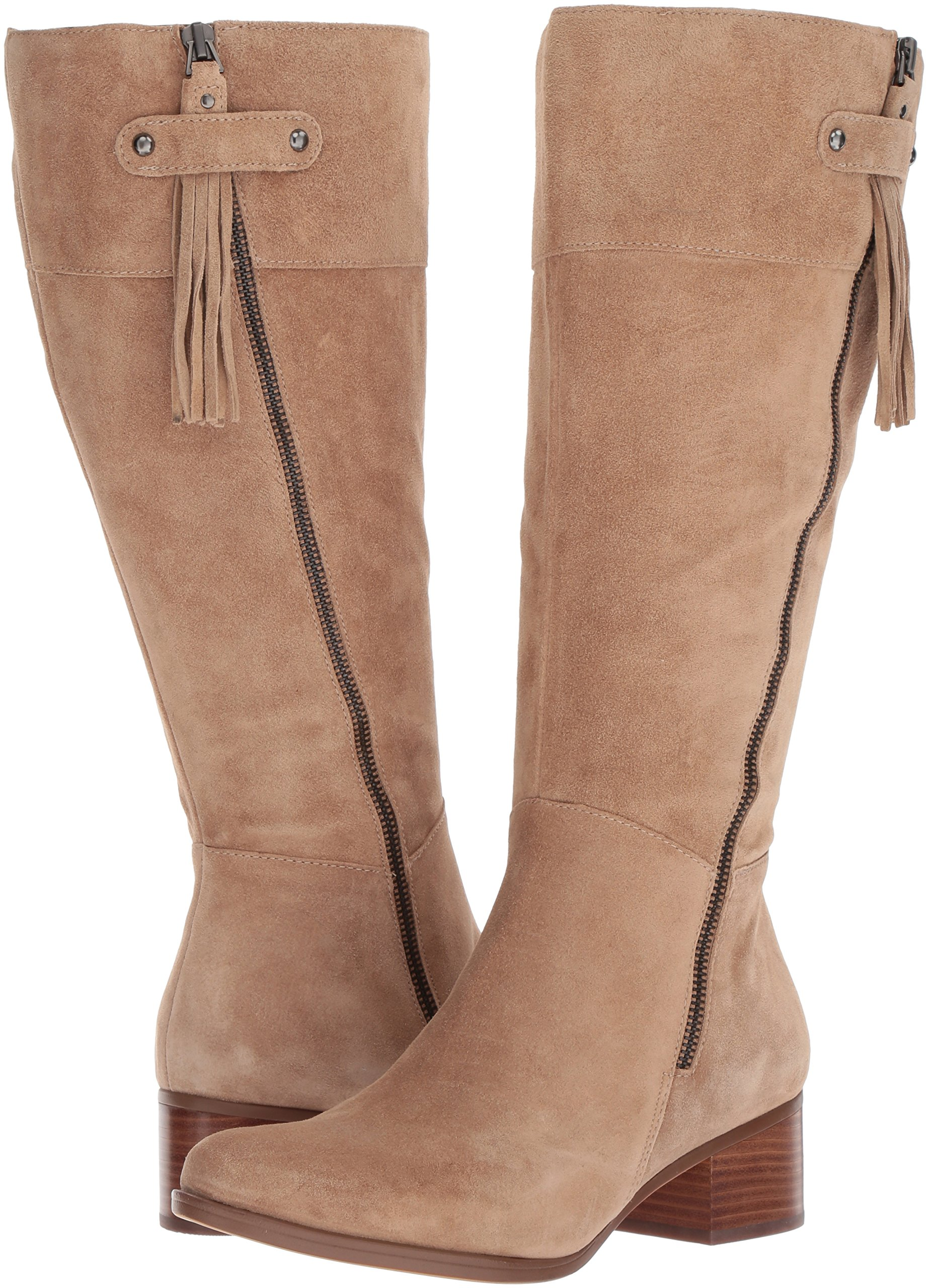 Naturalizer Women's Demi Wc Riding Boot, Oatmeal, 9 M US by Naturalizer (Image #6)