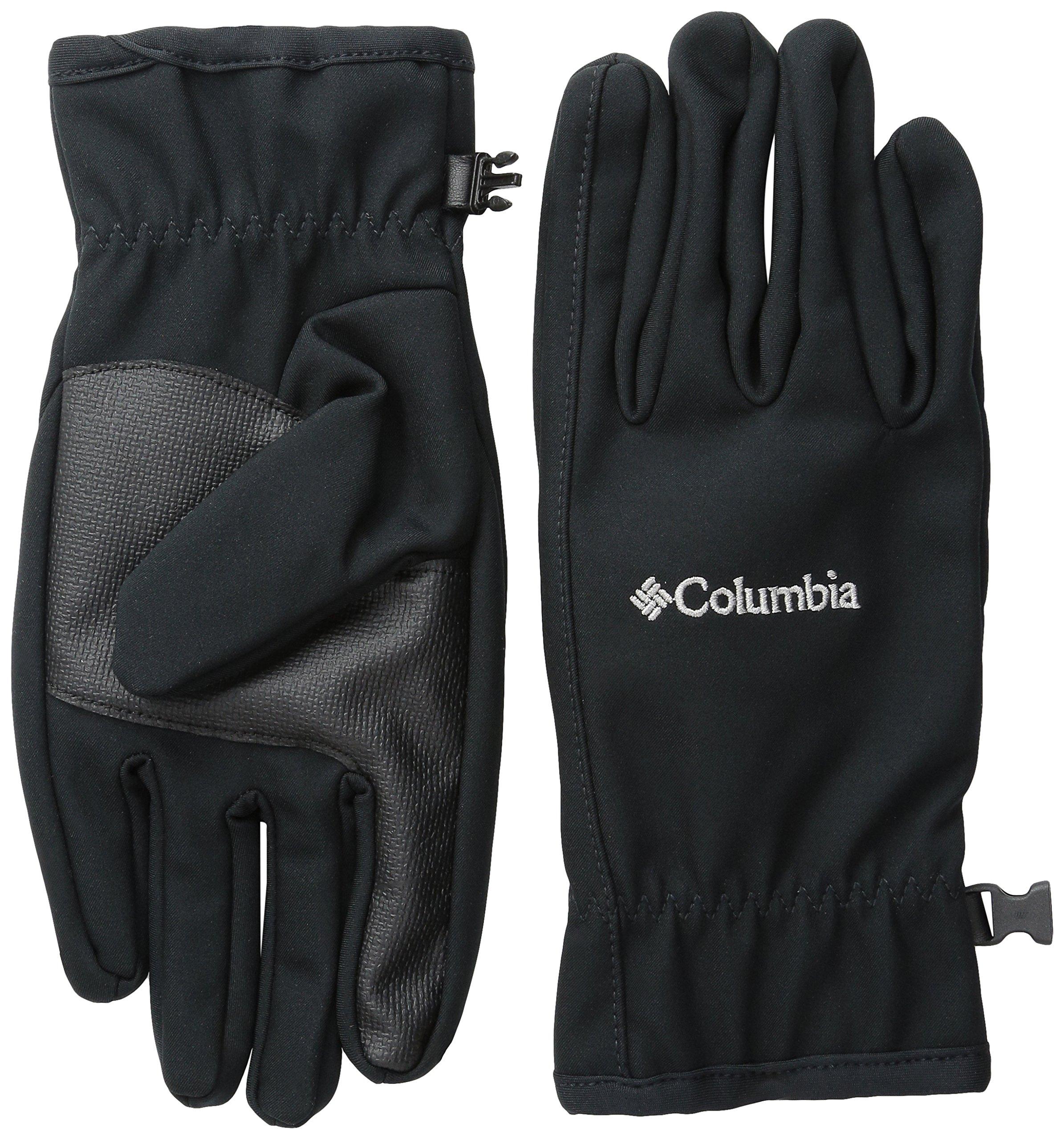 Columbia Men's M Ascender Softshell Glove, Black, Medium