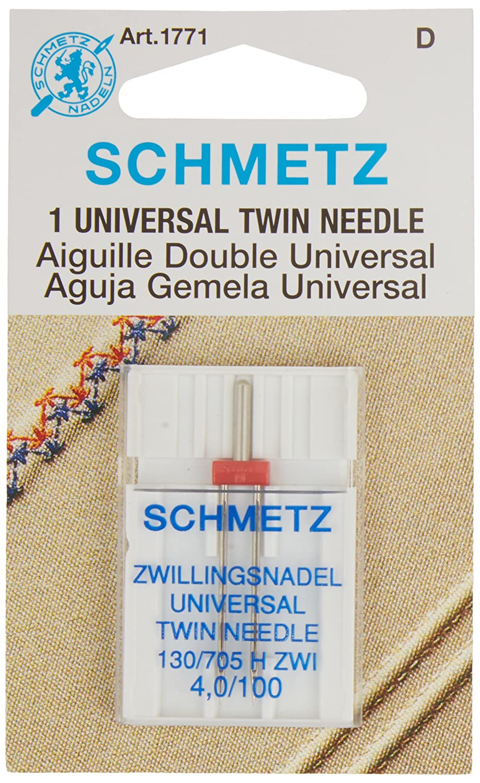 Schmetz Twin Machine Needle Size 4.0mm//100 1ct