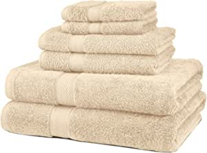 Wedgewood Pinzon 6 Piece Blended Egyptian Cotton Bath Towel Set