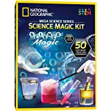 NATIONAL GEOGRAPHIC Science Magic Kit - Perform 20 Unique Science Experiments as Magic Tricks, Includes Magic Wand and…