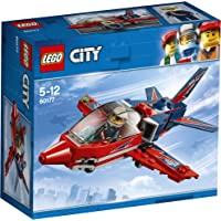 LEGO City Airshow Jet  Building Blocks for Kids 5 to 12 Years (87 Pcs) 60177 (Multi Color)