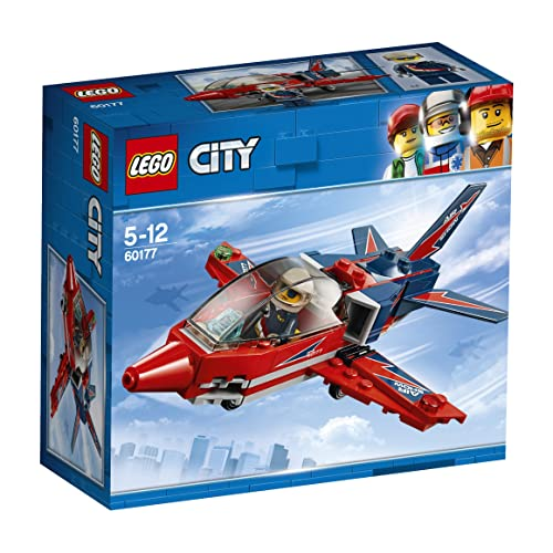 LEGO UK 60177 City Great Vehicles Airshow Jet Building Toy