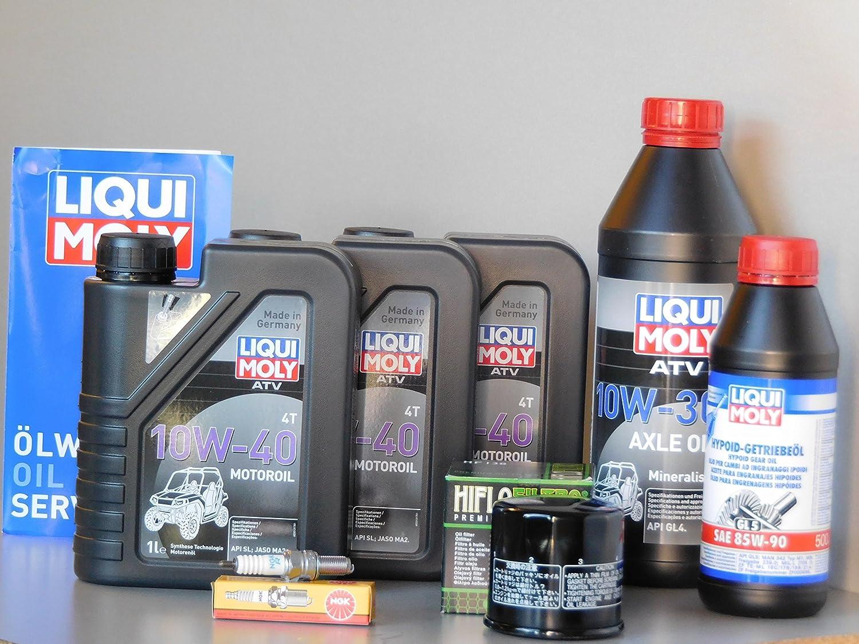Kit de mantenimiento ATV quadsuz Uki LT de a 700 King Quad Inspección Aceite Bujía de aceite: Amazon.es: Coche y moto