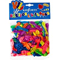 Partyforte Water Bomb Balloons, 100 Count Assorted