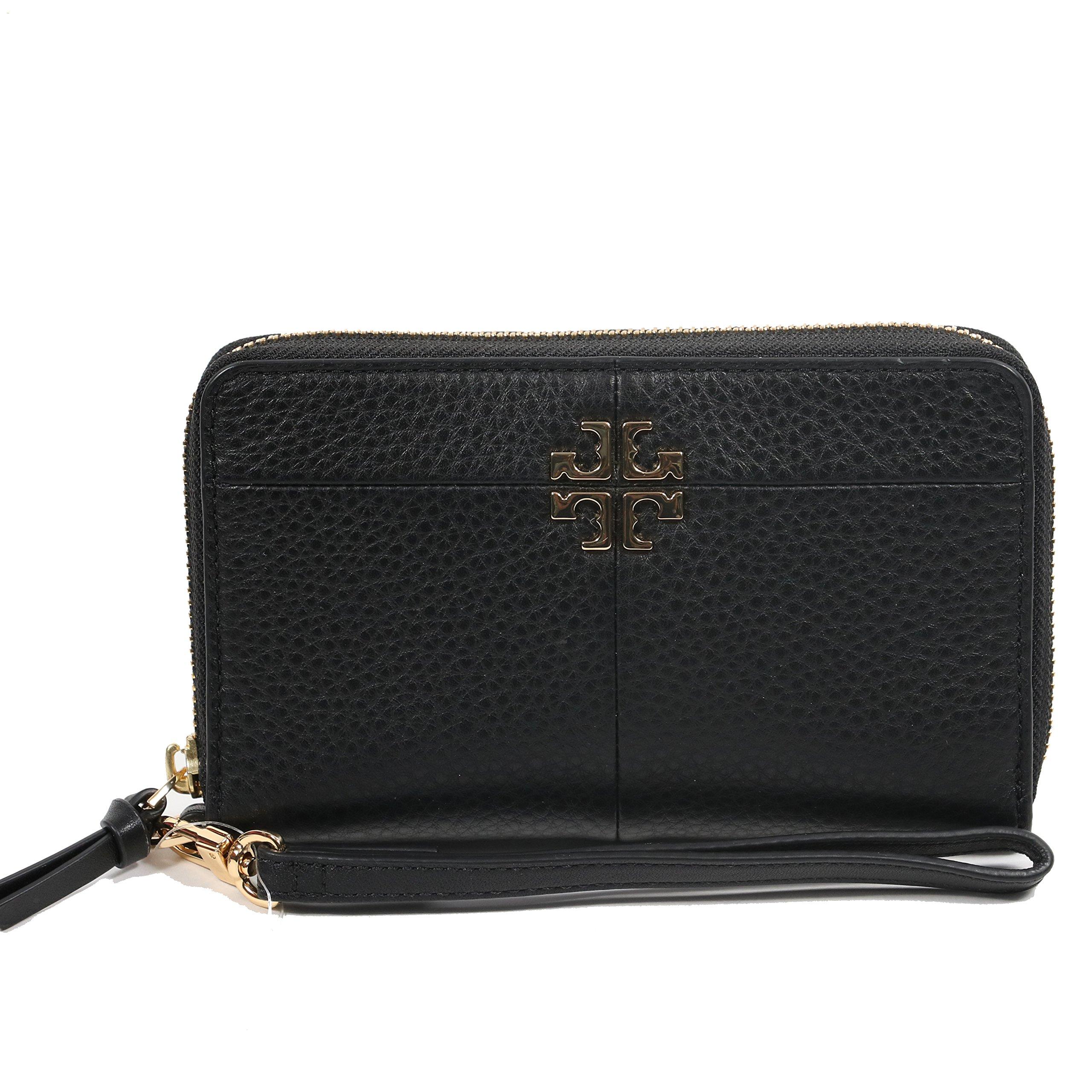 Tory Burch Wallet Wristlet Ivy Smartphone (Black)