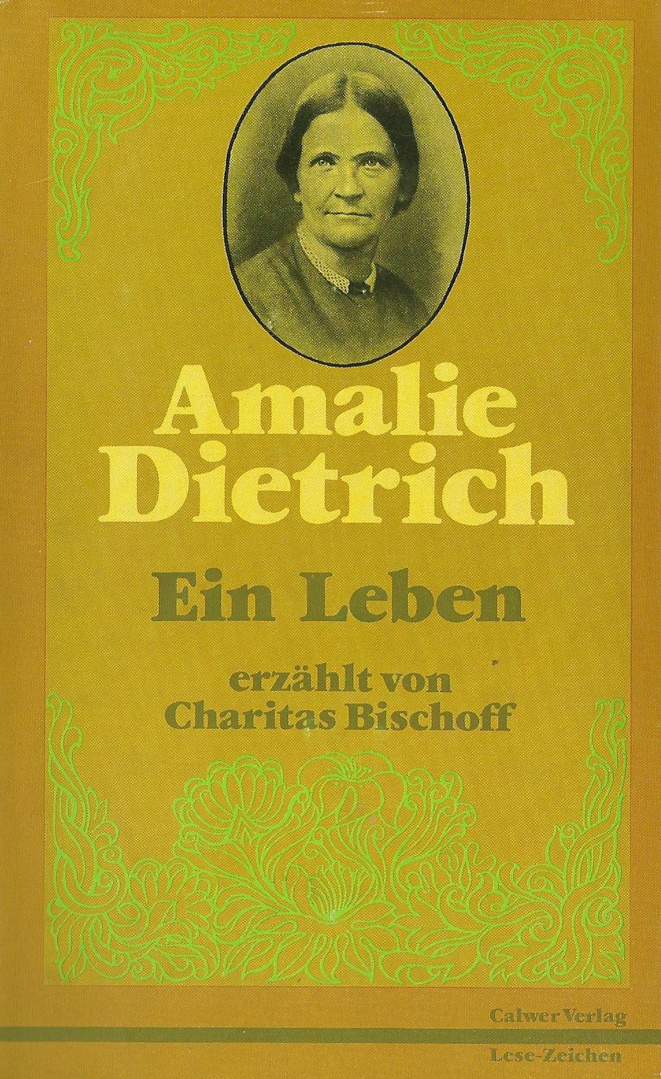 Amalie Dietrich. Ein Leben: Amazon.de: Günter Wirth, Charitas ...