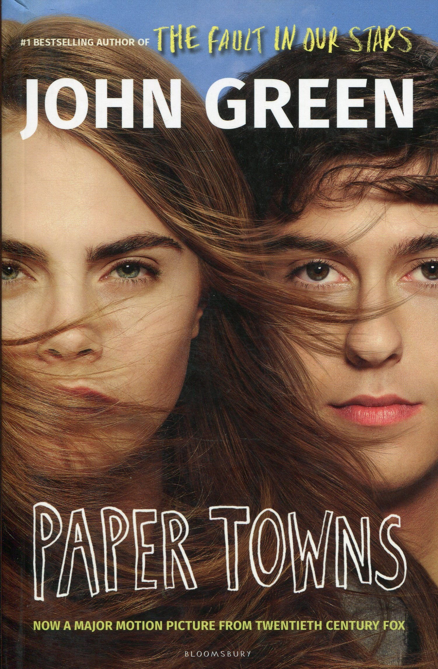 John green paper towns book