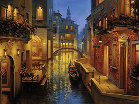 Ravensburger Puzzles Venetian Canal, Multi Color (1500 Pieces)