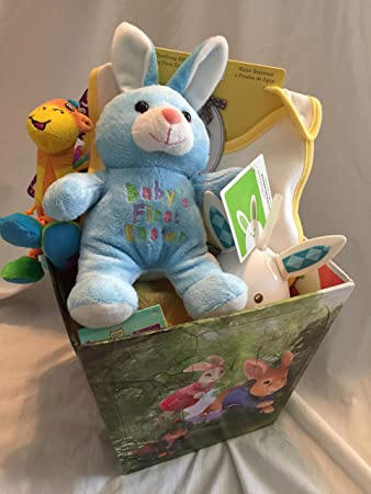 My first easter basket baby gund amazon toys games my first easter basket baby gund negle Gallery