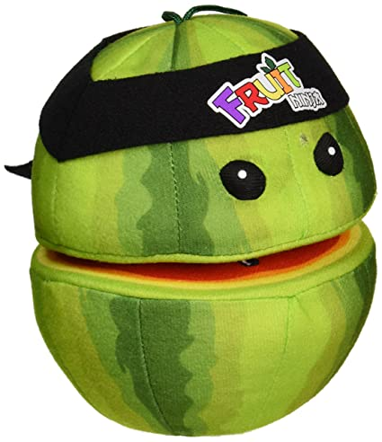 Amazon.com: Fruit Ninja Watermelon Plush: Toys & Games