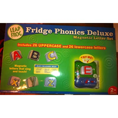 Fridge Phonics Deluxe Magnetic Letter Alphabet Set: Toys & Games