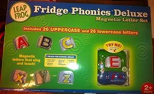 Fridge Phonics Deluxe Magnetic Letter Alphabet Set