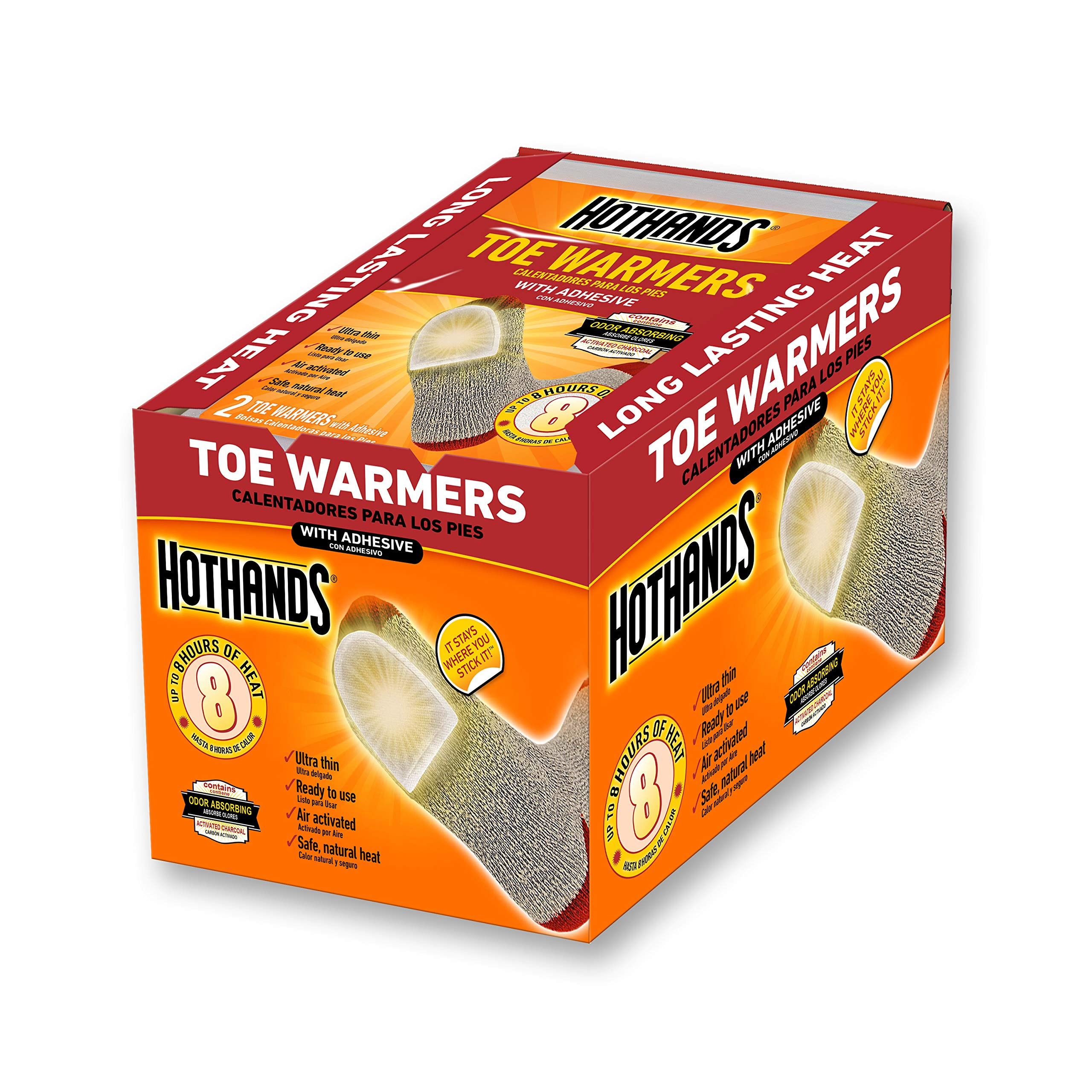 HotHands Toe Warmers 20 Pair by HotHands