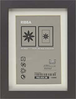 ikea ribba frame high gloss gray