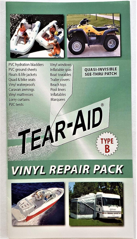 Tear-Aid - Pack de Parches Tipo B Supa: Amazon.es: Jardín