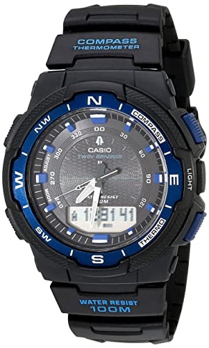 Casio Men's SGW500H-1BV Analog / Digital Sport Watch Black Resin