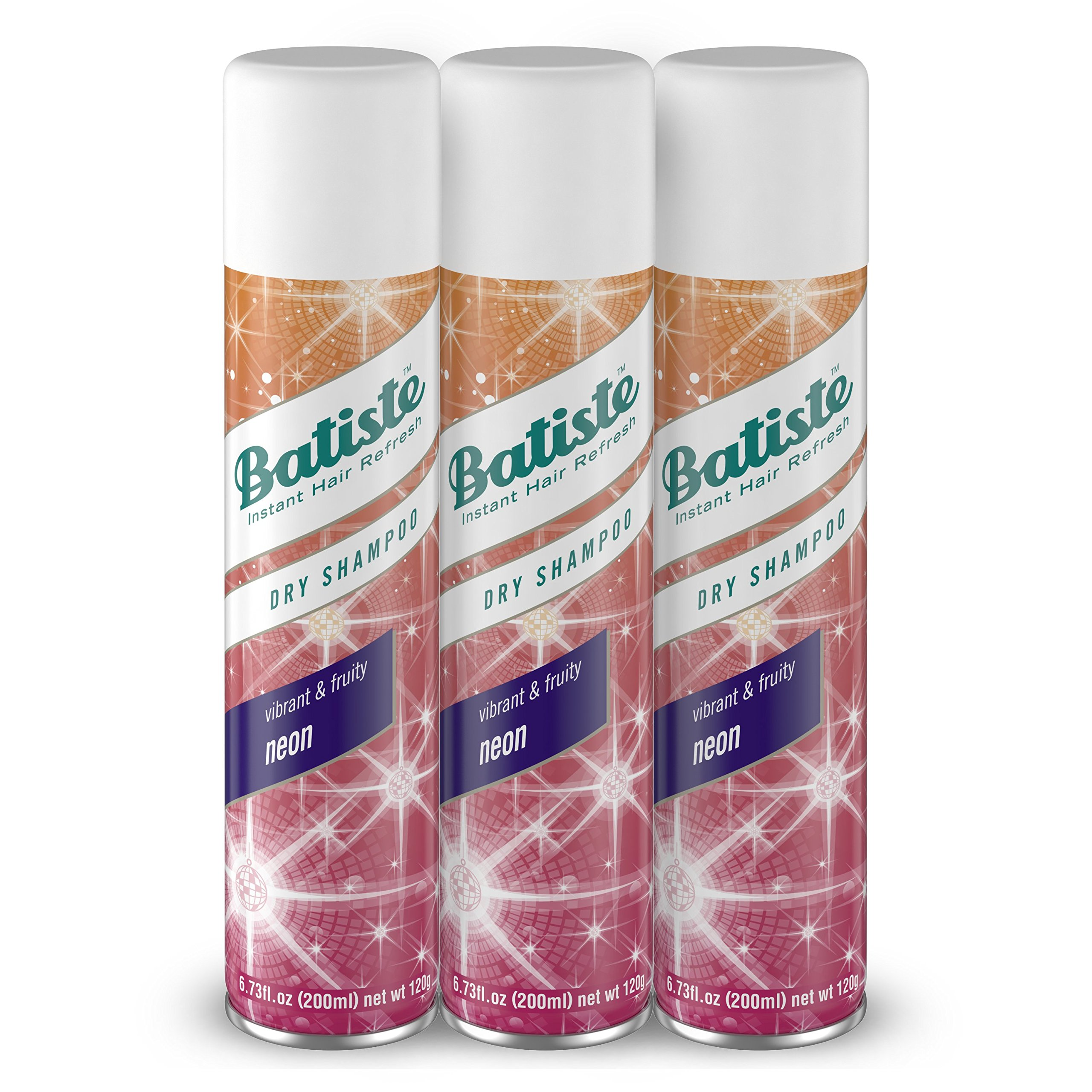 Batiste Dry Shampoo, Neon, 3 Count (Pack of 4) by Batiste (Image #1)